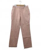 VAN JAC(ヴァンジャック)の古着「リラックスフィットパンツ」|ライトピンク