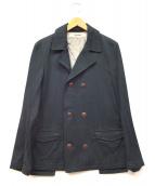 FACTOTUM(ファクトタム)の古着「ショートトレンチコート」|ブラック