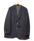 NEWYORKER(ニューヨーカー)の古着「金釦紺ブレザー」