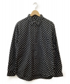 BLACK COMME des GARCONS(ブラックコムデギャルソン)の古着「ドットシャツ」 ブラック