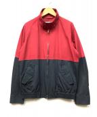 MARKAWARE(マーカウェア)の古着「バイカラースイングトップ」|レッド×ブラック