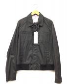 BYBLOS(ビブロス)の古着「オイルドジャケット」 ブラック
