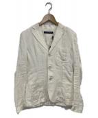RALPH LAUREN(ラルフローレン)の古着「リネンジャケット」|オフホワイト