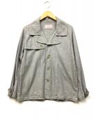 TROVE(トローヴ)の古着「Pコート風コットンカバーオール」|グレー