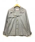 TROVE(トローブ)の古着「Pコート風コットンカバーオール」|グレー