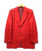 NEWYORKER(ニューヨーカー)の古着「金釦赤ブレザー」