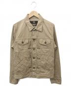 LOST DESSAU & CO(ロストデッサウ)の古着「コットンジャケット」|ベージュ