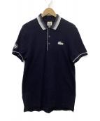 LACOSTE×ROLAND GARROS(ラコステ×ローランギャロス)の古着「ポロシャツ」|ネイビー