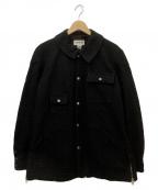 MONITALY(モニタリー)の古着「ウールショートコート」|ブラック