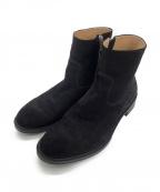 BEAUTY&YOUTH(ビューティアンドユース)の古着「スウェードジップブーツ」|ブラック