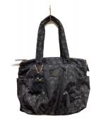 ANNA SUI(アナスイ)の古着「ナイロントートバッグ」 ブラック