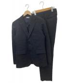 ()の古着「ピンヘッド2Bセットアップスーツ」|ネイビー