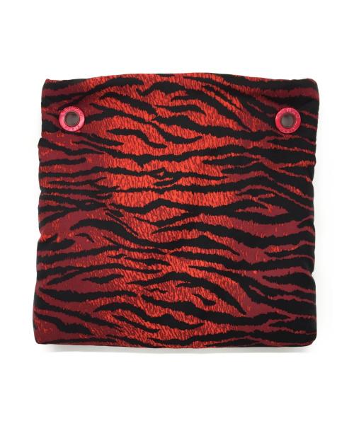 KENZO×H&M(ケンゾー×エイチアンドエム)KENZO×H&M (ケンゾー×エイチアンドエム) タイガーストライプサコッシュ レッド×ブラックの古着・服飾アイテム