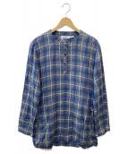 nonnative(ノンネイティブ)の古着「プルオーバーシャツ」|ブルー×グレー