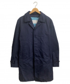 PRINGLE1815(プリングルエイティーンフィフティーン)の古着「キルティングライナー付ステンカラーコート」|ネイビー