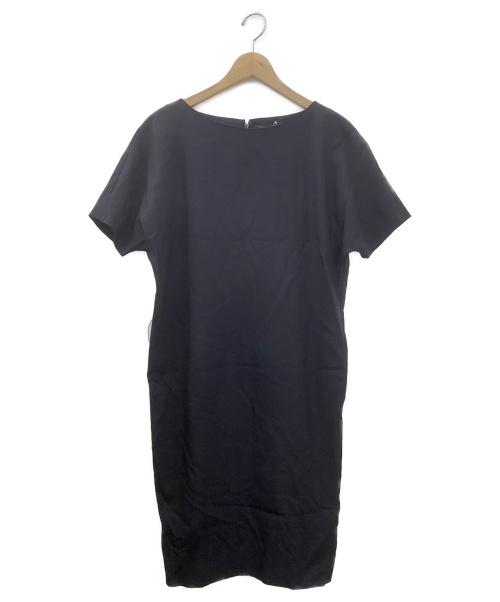 Agnona(アニオナ)Agnona (アニオナ) プルオーバーワンピース ネイビー サイズ:38 未使用品の古着・服飾アイテム