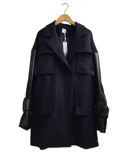 STAIR(ステア)STAIR (ステア) カルゼジャケット ネイビー×ブラック サイズ:F 未使用品の古着・服飾アイテム