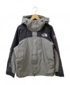 THE NORTH FACE(ザ ノース フェイス)の古着「マウンテンジャケット」|グレー×ブラック