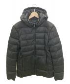 Calvin Klein(カルバンクライン)の古着「フーデッド中綿ジャケット」|ブラック