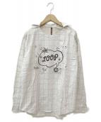 FRAPBOIS(フラボア)の古着「ループシャツ」|アイボリー