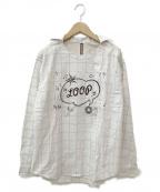 FRAPBOIS(フラボア)の古着「ループシャツ」 アイボリー