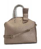 ()の古着「2WAYバッグ」|ブロンズカラー