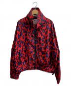 KENZO(ケンゾー)の古着「ロゴウィンドブレーカー」|レッド×パープル×ブラック