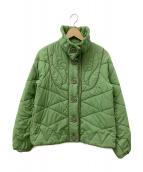 FRAPBOIS(フラボア)の古着「キルティングジャケット」 グリーン