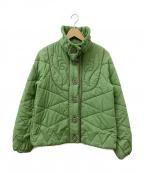 FRAPBOIS(フラボア)の古着「キルティングジャケット」|グリーン