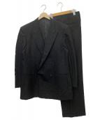 ()の古着「ダブルスーツ」|ブラック