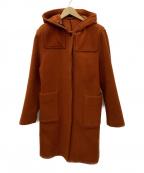 TOMORROW LAND collection(トゥモローランドコレクション)の古着「ウールコート」|ブラウン