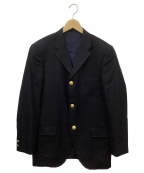 VAN JAC(ヴァンジャック)の古着「金釦紺ブレザー」