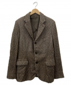 MANDO(マンドー)の古着「ヘリンボーン3Bジャケット」|ブラウン