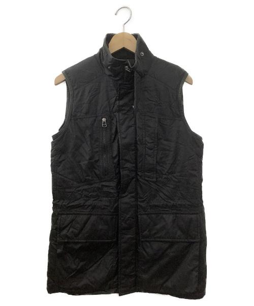 RALPH LAUREN(ラルフローレン)RALPH LAUREN (ラルフローレン) ツイルナイロンダウンベスト ネイビー サイズ:Sサイズの古着・服飾アイテム