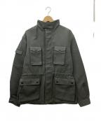 Fraizzoli(フライツォーリ)の古着「ハンティングジャケット」|グレー