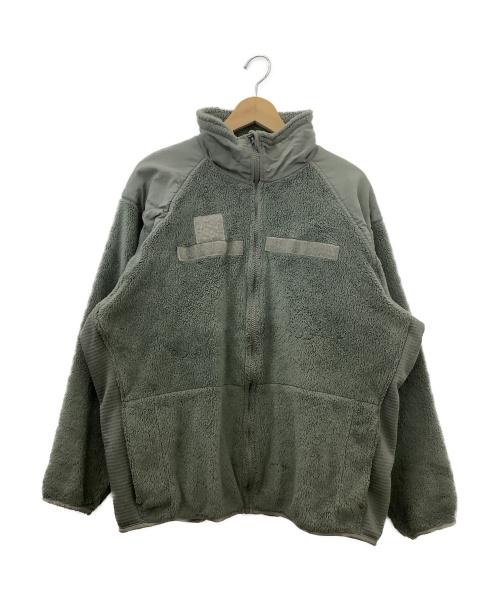 U.S ARMY(ユーエスアーミー)U.S ARMY (ユーエスアーミー) アメリカ軍ボアフリースジャケット グレー サイズ:Lサイズの古着・服飾アイテム