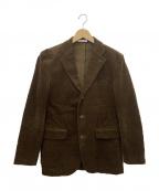 ETONNE(エトネ)の古着「段返り3Bテーラードジャケット」|ブラウン