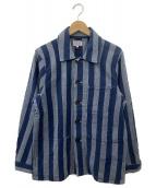 ()の古着「シャツジャケット」 インディゴ