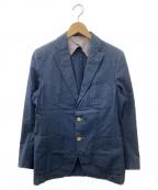 ETONNE(エトネ)の古着「2Bテーラードジャケット」|インディゴ