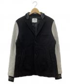 REIGNING CHAMP(レイニングチャンプ)の古着「スウェットジャケット」 ブラック×グレー
