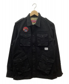 ()の古着「フィールドジャケット」 ブラック