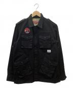 INTERBREED(インターブリード)の古着「フィールドジャケット」|ブラック