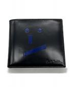 PAUL SMITH(ポールスミス)の古着「2つ折り財布」|ブラック×ブルー