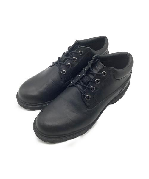 Timberland(ティンバーランド)Timberland (ティンバーランド) YOUTH BASIC OX(ユース ベーシック オックス) ブラック サイズ:25.5cm YOUTH BASIC OX A1P3Sの古着・服飾アイテム