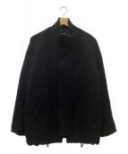 ()の古着「ウールブルゾン」|ブラック