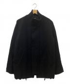 CABANE de ZUCCa(カバンドズッカ)の古着「ウールブルゾン」 ブラック
