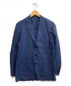 CARUSO(カルーゾ)の古着「3Bテーラードジャケット」|ブルー