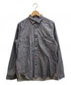 CDG JUNYA WATANABE MAN(コムデギャルソン ジュンヤワタナベマン)の古着「切替シャツ」