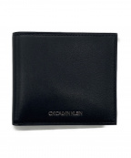 ck Calvin Klein(シーケーカルバンクライン)の古着「2つ折り財布」|ブラック