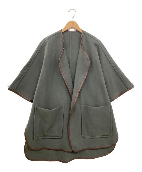 ROPE(ロペ)ROPE (ロペ) ポンチョ グレー サイズ:38の古着・服飾アイテム